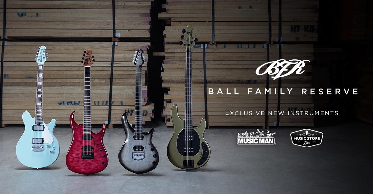 Ernie Ball Music Man Ball Family Reserve