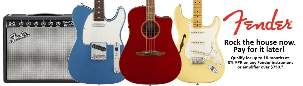 Fender Summer Financing Event!