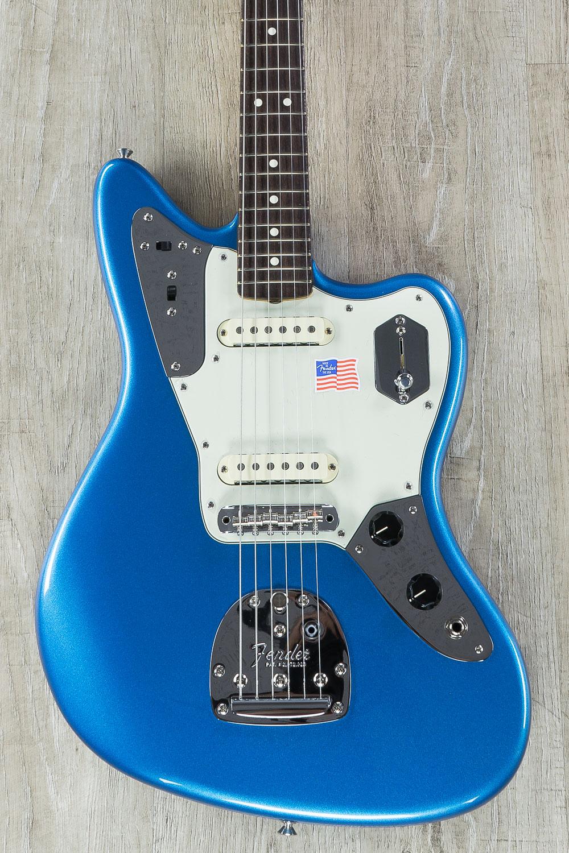 Fender Johnny Marr Jaguar Guitar, Lake Placid Blue, Rosewood Fretboard,  Hardshell Case - On Sale Now!Music Store Live