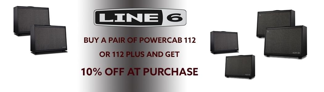 Line 6 Powercab Sale